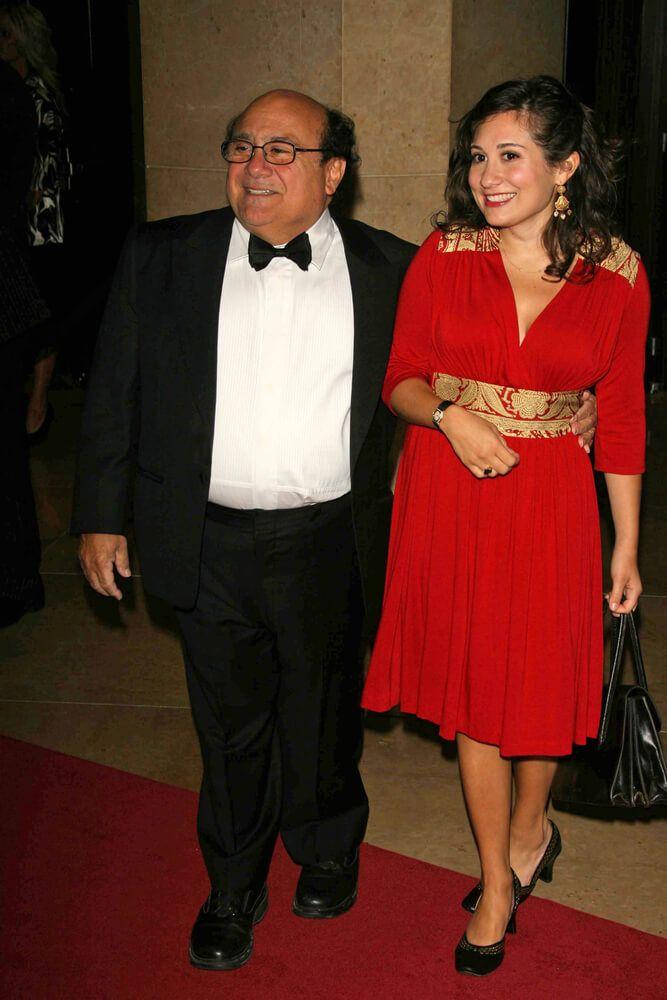 Danny Devito and daughter