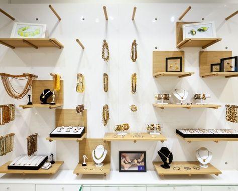 Pegboard Jewelry Displays