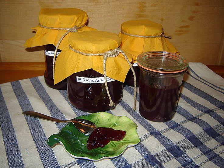 Traubengelee (Rezept mit Bild) von schnatter200 | Chefkoch.de
