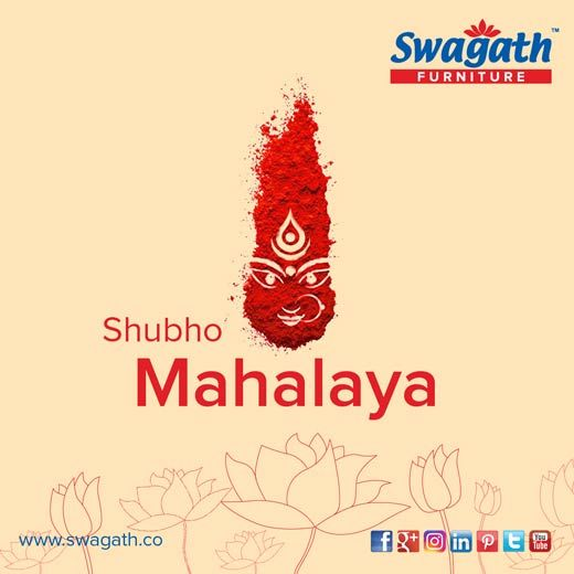 Fortunate is the one who has learned to admire, but not to envy. Swagath wishes you all A Joyous Mahalaya with plenty of Peace, Prosperity & Happiness.