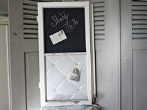 Shabby Pinnwand Magnettafel altes Fenster *Isolde*