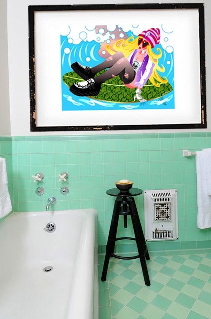 DOWNLOAD ISTANTANEO. Poster Rockaway Beach colori di julioroberts