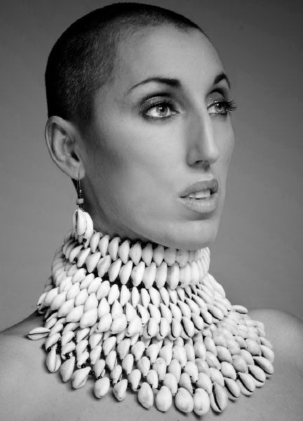 Rossy de Palma..shaved head!! Amazing muse of Almodovar