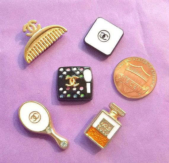 CHANEL Inspired Mini MAGNETS Set 5 Beauty Vanity Cosmetic