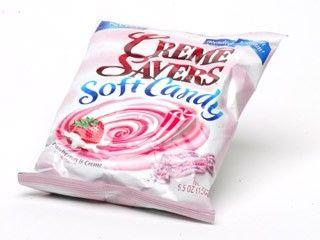 Strawberry Creme Savers Soft Candy