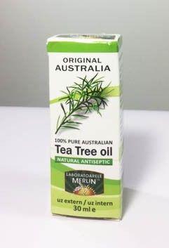 Ulei de Tea Tree - Arbore de Ceai Australian pur 100% - 30 ml - proprietățile organoleptice ale acestui ulei esențial sunt date de un lichid limpede, incolor spre galben pal, un miros proaspăt, ierbos cu o lungă durată utilizare în cosmetică, aromaterapie și terapii conventionale.