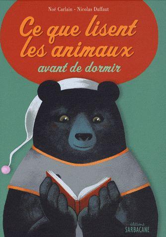 Coup de coeur: Ce que lisent les animaux avant de dormir