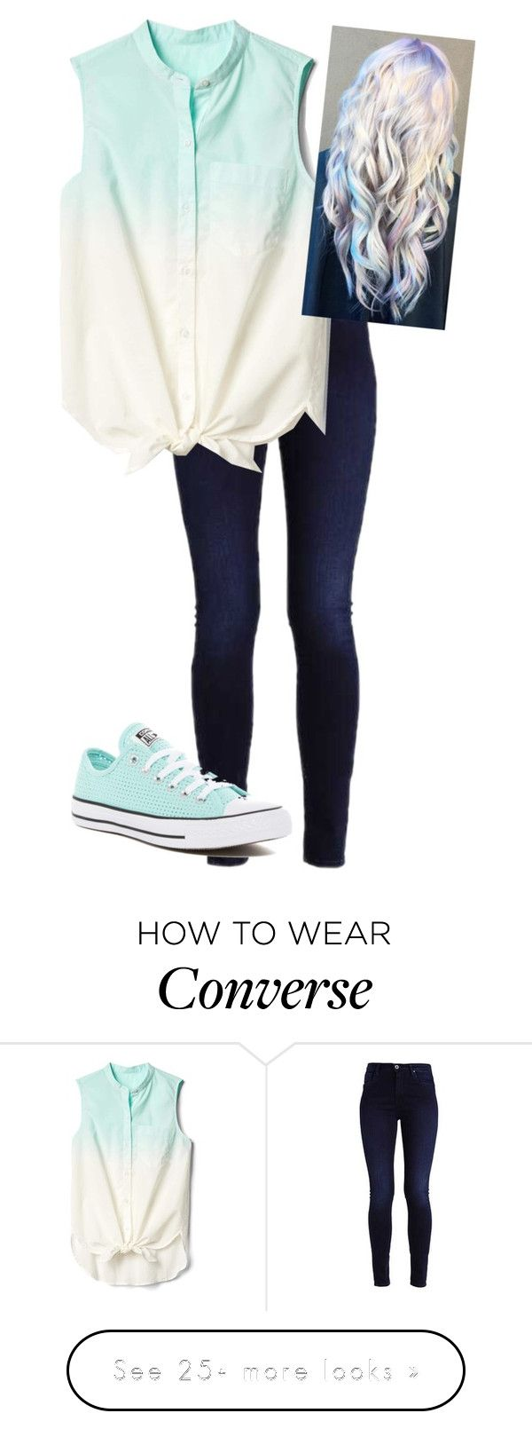 """Thanks so much for 1,000 followers!!! Love y'all!"" by stilinskiismybatman on Polyvore featuring Gap and Converse"