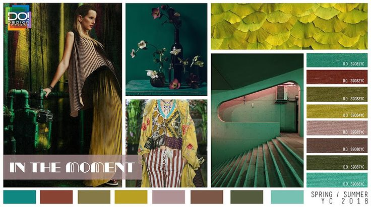 TRENDS // DESIGN OPTIONS - WOMEN'S COLOR FORECAST . SS 2018