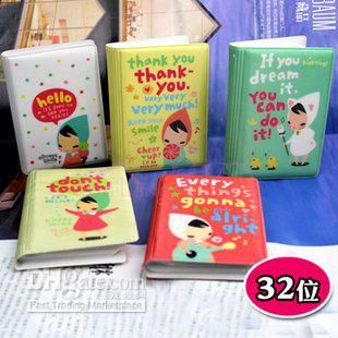 Wholesale Free ship12pcCartoon Little Red Riding Hood cute girl card package / 32 card holder / bank bus car, Free shipping, $2.41-3.0/Piece | DHgate