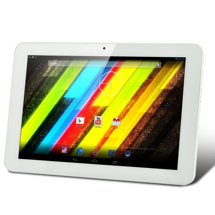 10.1 Inch HD Android 4.2 Tablet (1280x800, Dual Core 1.2GHz CPU, 1GB RAM, 6000mAh)