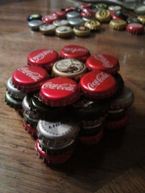 Bildungsroman Me: How to make Bottle Cap Coasters
