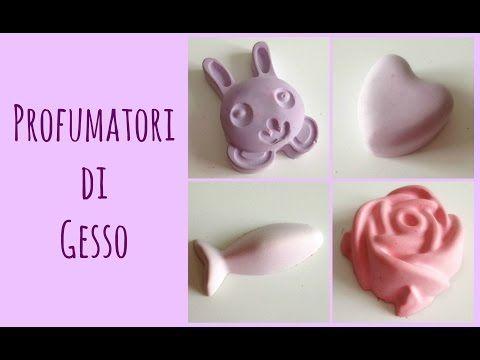 Profumatori per Cassetti in Gesso feat. Elena Tee (D.I.Y. Riciclo) Arte per Te - YouTube