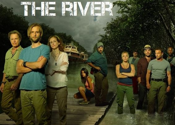 The River: It's a great tv show with lots of suspense!