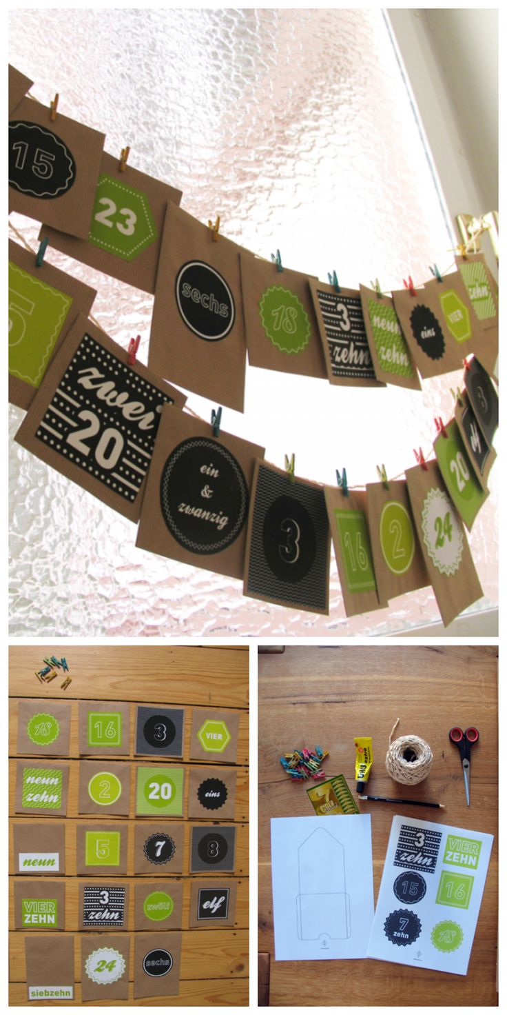 37. #Adventskalender #diy #idea