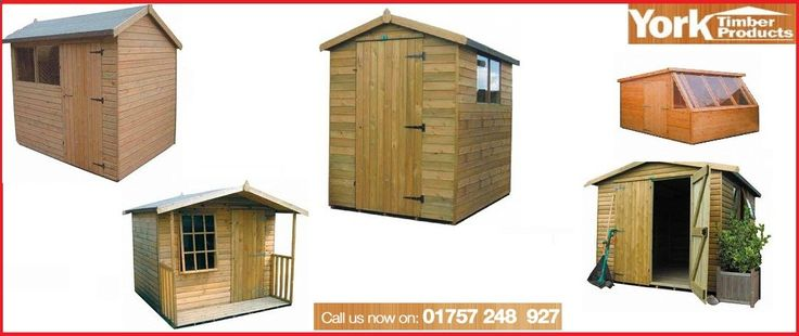 When it comes to a quality garden shed design, consumers need not look any further than York Timber Products. The highly recognized company manufactures premium wood, Tanalised-A pressure-treated buildings for use as potting sheds, garden offices, playhouses and workshops. www.yorktimberpro...