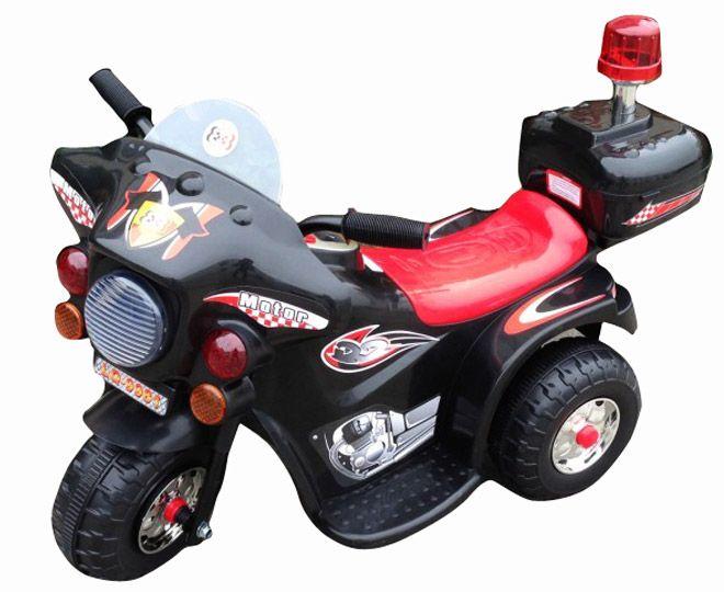 Kids' Ride On Motorcycle - Black