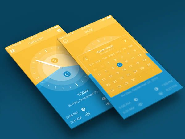 30 Gorgeous Examples of Calendar Usage in Mobile UI Design - Smashfreakz