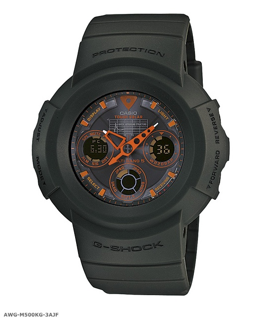 Reminds me of a beefier Nike Oregon watch... Casio #G-Shock Solar Military Green Collection
