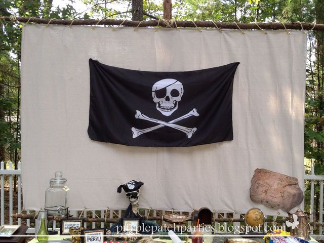 Great pirate backdrop #pirate #backdrop #party