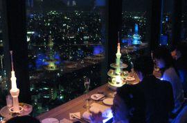 天空LOUNGE TOP of TREE | 夜景の見えるレストラン