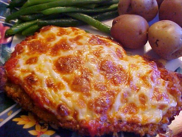 la table en fête : Ma recette préférée d'escalopes de veau parmigiana