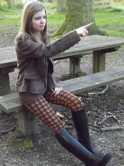 sexy teen in boots