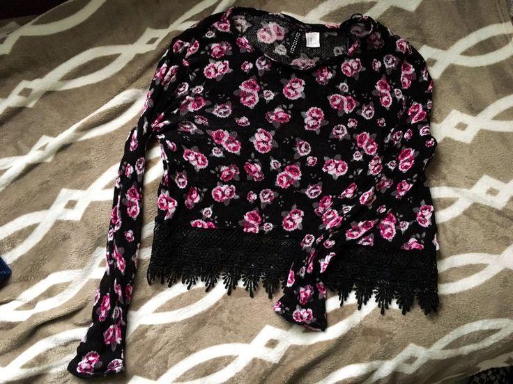 Sweterek crop top z długim rękawem H&M H&M z mojej szafy! Rozmiar 34 / 6 / XS za 30.00 zł. Zobacz: http://www.vinted.pl/damska-odziez/swetry-z-dzianiny/17437308-sweterek-crop-top-z-dlugim-rekawem-hm.