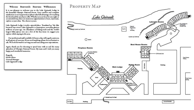 Image result for images of Lake Quinault lodge map