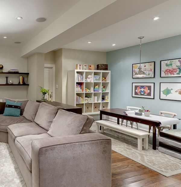 Only Best 25+ Ideas About Unfinished Basement Decorating