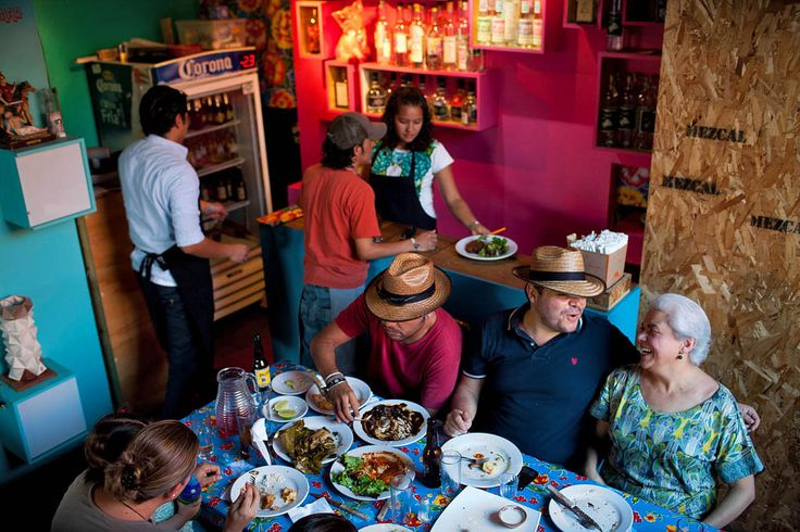 With the city's street art scene, a mescal-fueled night life and one of Mexico's most exciting regional cuisines, Oaxaca is as cosmopolitan as it is architecturally stunning.