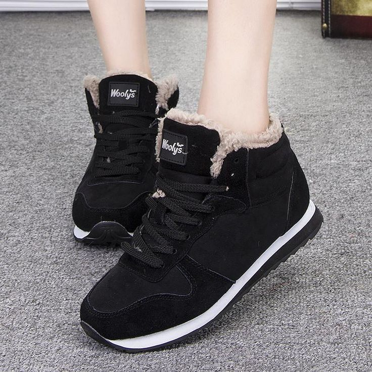<b>Women</b> Plush Warm Ankle Snow <b>Winter Boots</b> | Женская обувь ...