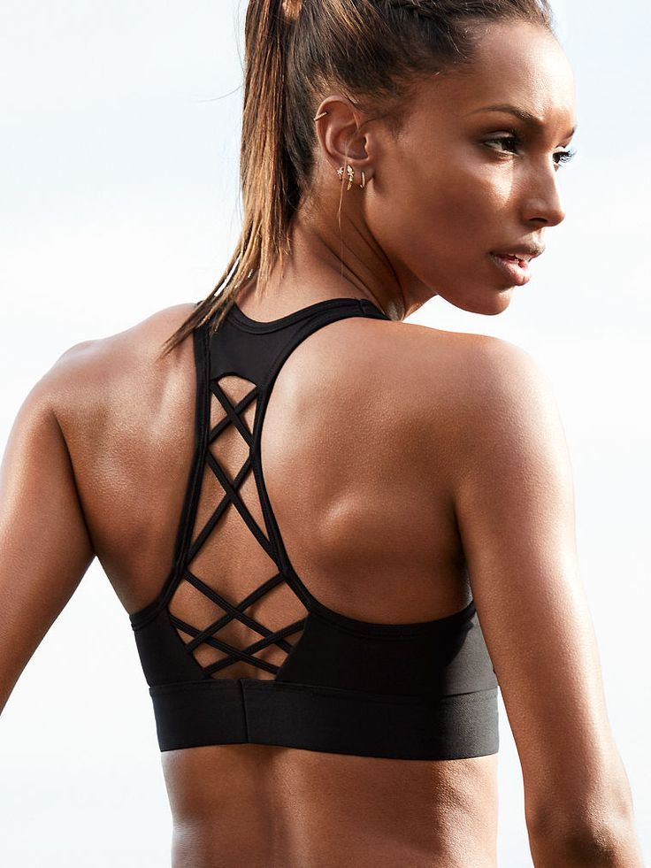 The Player Lace-Up Sport Bra - Victoria Sport - Victoria's Secret