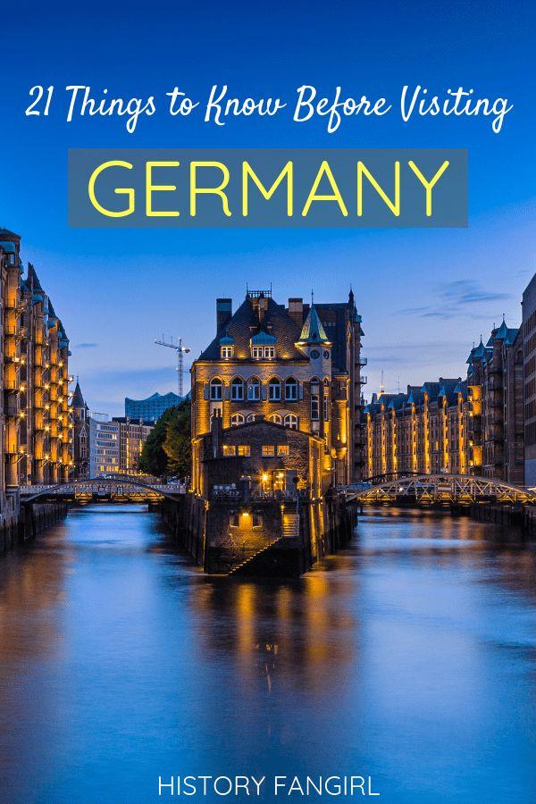 21 coisas a saber antes de viajar para a Alemanha: dicas e conselhos para iniciantes