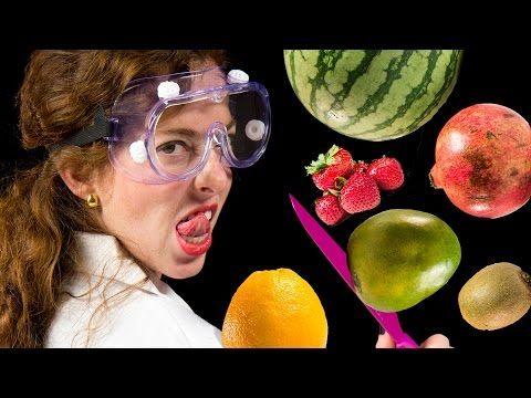 Как правильно резать фрукты