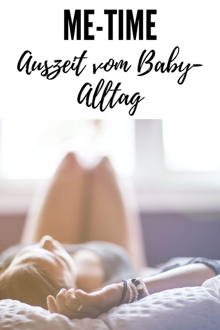 Zeit für dich geht im Alltag mit Baby schnell unter - lies hier meine Tipps, wie du dir diese Auszeit organisierst und dich dabei richtig entspannen kannst!