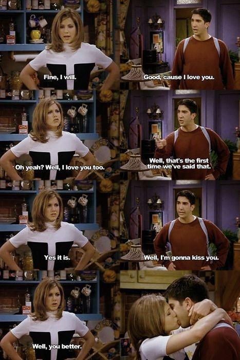 Ross and Rachel,F.R.I.E.N.D.S.