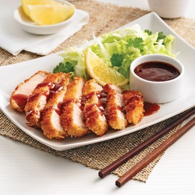 Porc tonkatsu à l'érable - Recettes - Cuisine et nutrition - Pratico Pratique