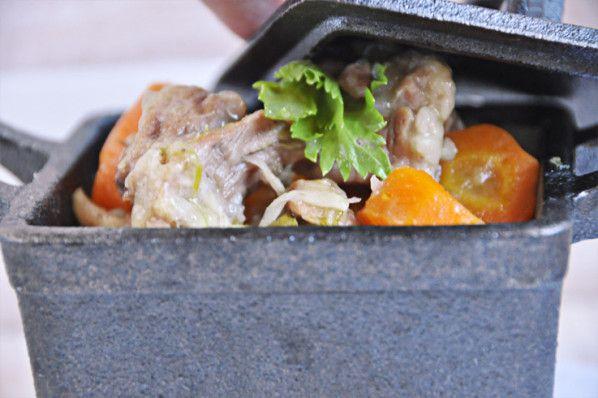 Blanquette de veau sous le couvercle