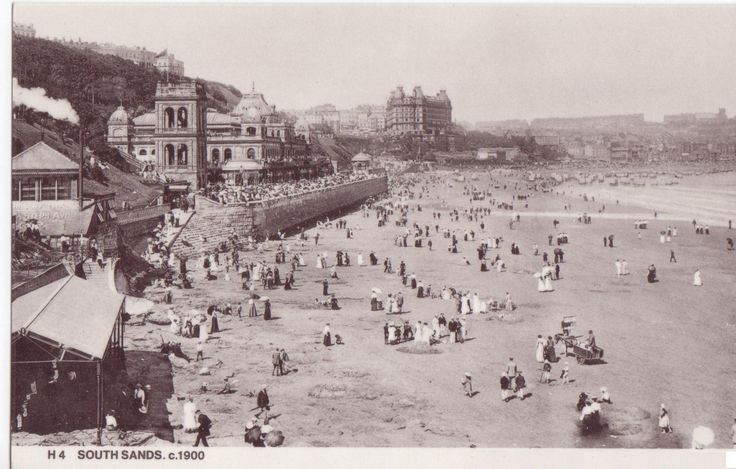 Scarborough South Sands 1900