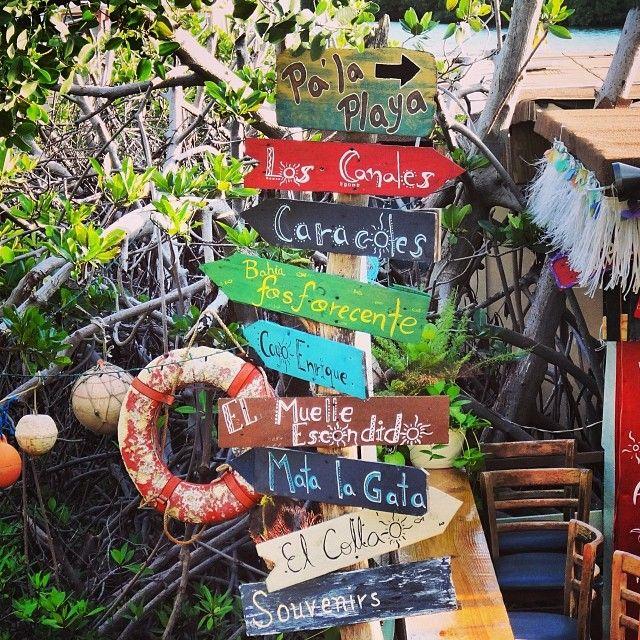 Directional Sign - La Parguera, Puerto Rico