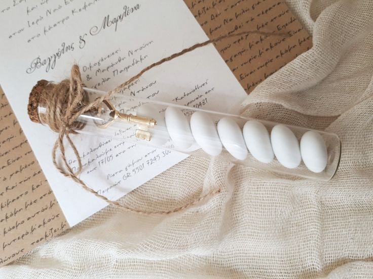 Πρωτότυπες μπομπονιέρες γάμου Γυάλινος σωλήνας με κουφέτα χατζηγιαννακη και φυσικά έναν μεταλλικό κλειδί Αγάπης! #γαμος #baptism#babyshower #mpomponieres#vaptisi#vaftisi#βάπτιση #βάφτιση#baptism##μπομπονιερα #μπομπονιέρες #μπομπονιερες α#valentinachristina#μπομπονιερα_ελια #vaptism#athens#greece#handmade #christeningfavors#greek#greekdesigners#handmadeingreece#greekproducts #μπομπονιερες_γαμου#weddingfavors #baptismfavors #luxury#weddingaccesories