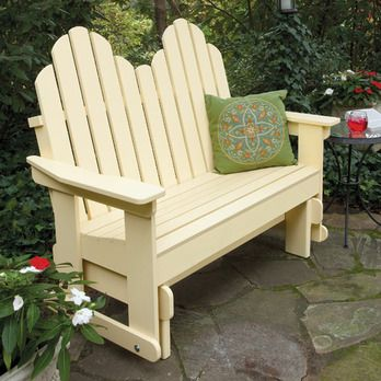 Adirondack Glider Chair Plans Woodworking Projects Amp Plans
