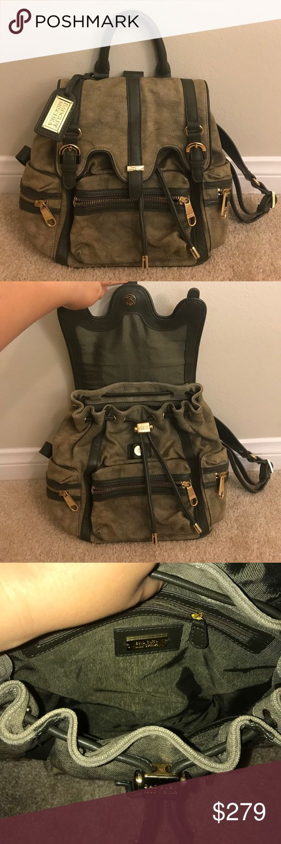 Badgley Mischka Backpack 100% Authentic Badgley Mischka Backpack. Price is firm on Posh. Hardly ever used it. No dust bag/box/receipt. Purchased it several years ago from Nordstrom's Half Yearly Sale. Feel free to ask any questions! (Selling for less on Ⓜ️) Badgley Mischka Bags Backpacks