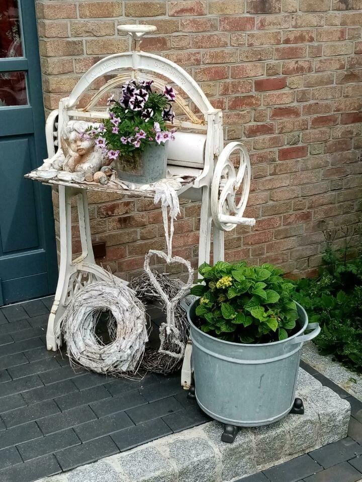 Schone Waschemangel Alt Antik Shabby Chic In Schleswig Holstein Holtsee Ebay Kleinanzeigen Garten Upcycling Shabby Chic Garten Waschemangel