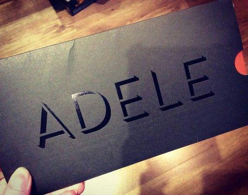 'Adele Live 2016' ticket