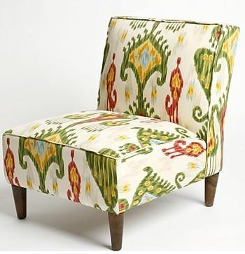 gorgeous ikat chair