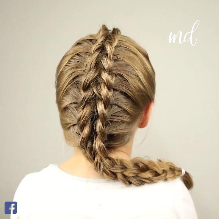 DRAGON BRAID  baby girl hair cutting styles videos - Baby Hair Style #BRAID #hair #BabyHairStyle