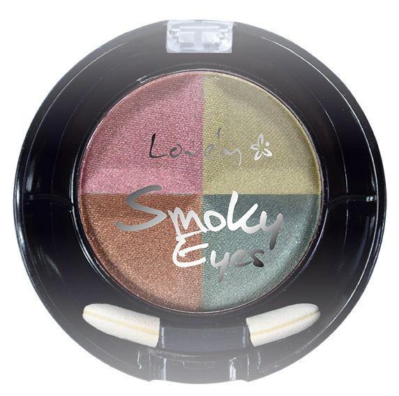 Lovely, cienie do powiek Smoky Eyes nr 2