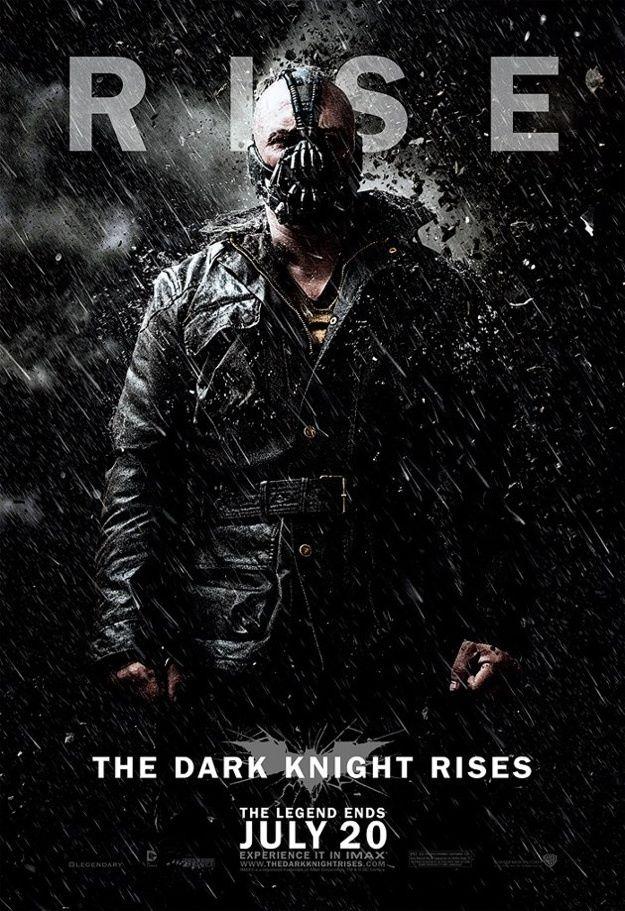 КиноМелочи: Постеры «Темный рыцарь: Возрождение легенды»  poster dark knight rises